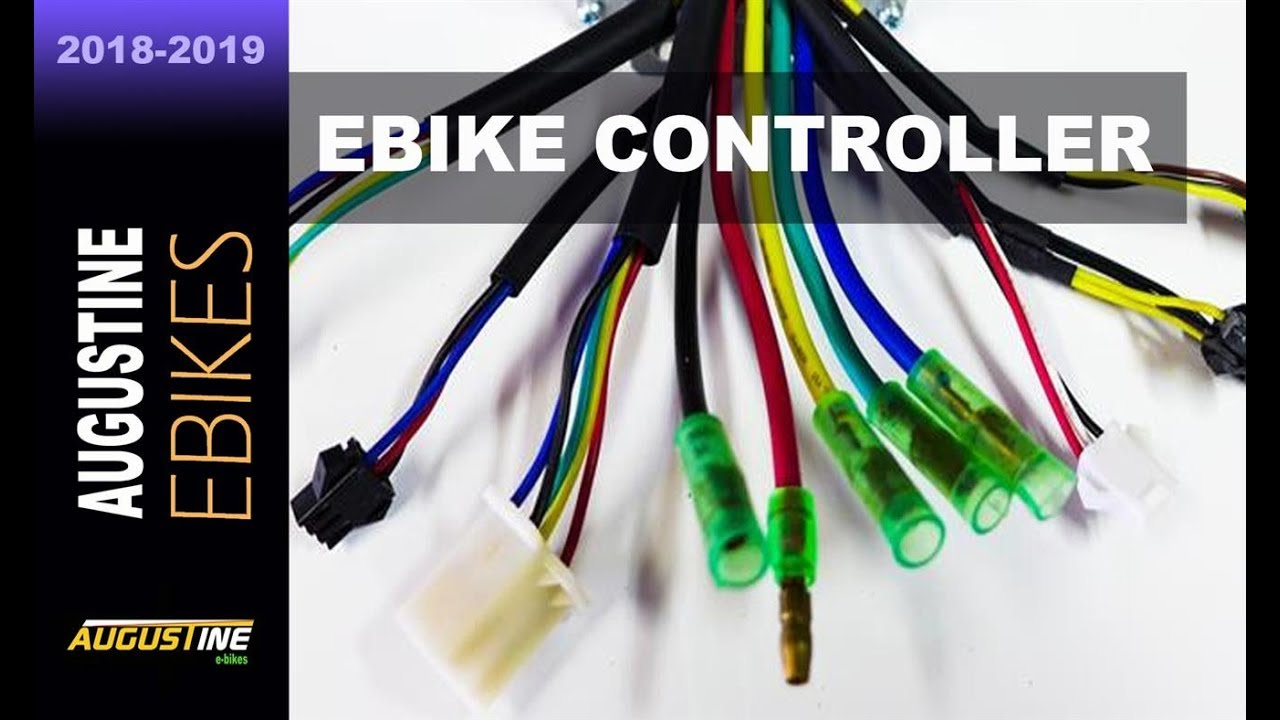 E Scooter Wiring Diagram Ford S Max Towbar Electric Bike Tips. 48v Controller Installation, E-bike Conversion Kit - Youtube