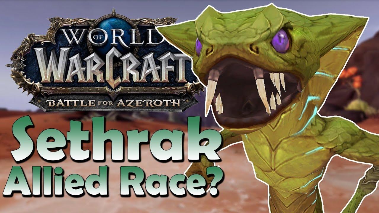 Sethrak Allied Race Customisation OptionsLore