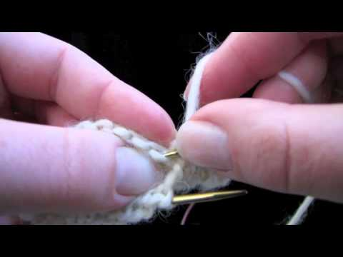 KNITFreedom - The Picot Hem: How To Knit A Picot Edge