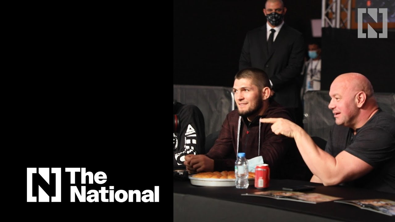 Dana White meets Khabib Nurmagomedov at UAE Warriors event - The National