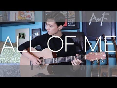 All Of Me - John Legend - Andrew Foy Cover (fingerstyle Guitar)