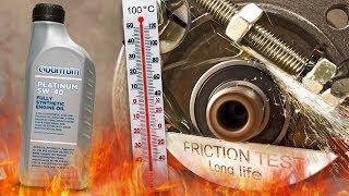 Quantum Platinum 5W40 Jak skutecznie olej chroni silnik? 100°C