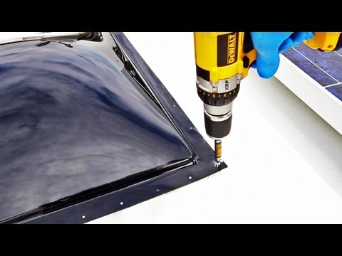 HOW TO: Replace an RV Skylight - YouTube