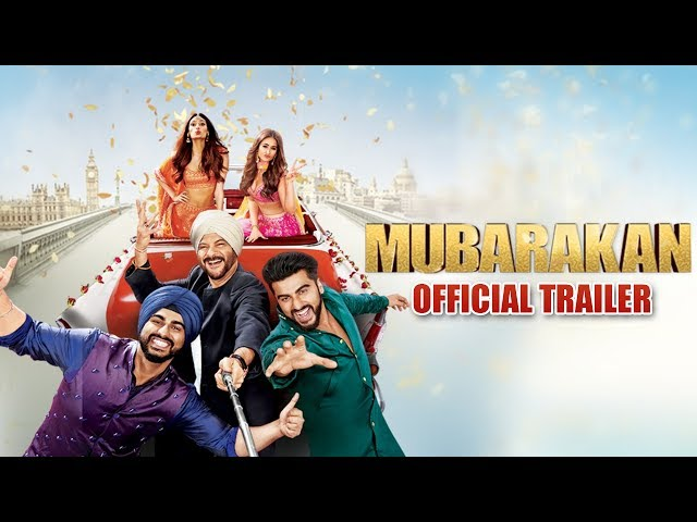 Mubarakan | Official Trailer | Anil Kapoor | Arjun Kapoor | Ileana D'Cruz | Athiya Shetty