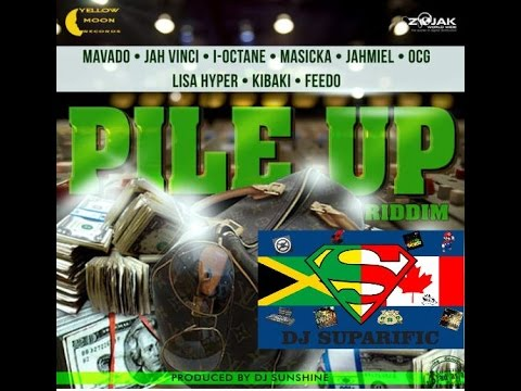 PILE UP RIDDIM MIX FT. MAVADO, AIDONIA, JAHMIEL &...