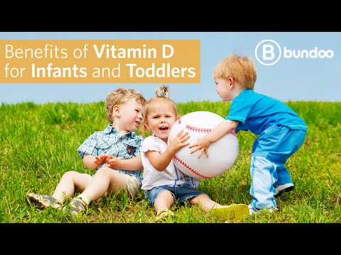 Benefits of Vitamin D for Infants and Toddlers