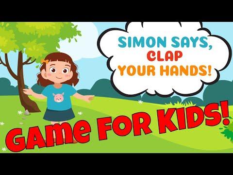 Simon Says Musical Brain Break Game For Kids!