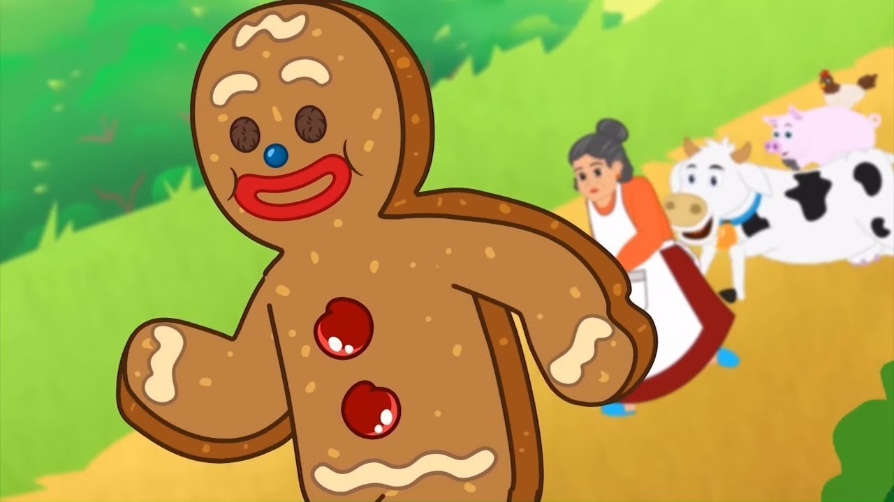 Download The Gingerbread Man | Fairy Tales and Bedtime Stories for Kids in English | Storytime
