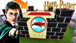 UNE BASE SÉCURISÉE PAR HARRY POTTER ! | Minecraft Bed Wars Moddé