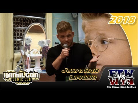 Jonathan Lipnicki Jerry Maguire, Stuart Little Hamilton Comic Con 2018 Full Panel