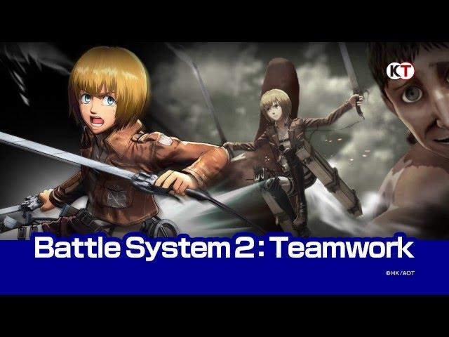 New Attack On Titan Video Game Trailers, Screenshots, Pre