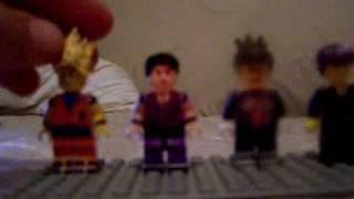 custom dbz lego minifigs