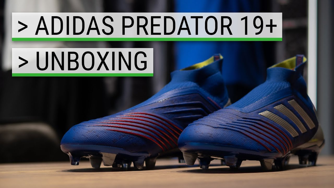 e42befe23 🎁 UNBOXING - adidas Predator 19+ - Exhibit Pack - YouTube