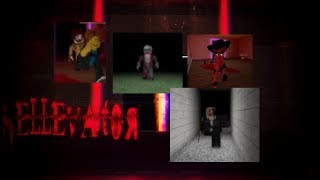 Hellevator on ROBLOX #3 (JUMPSCARE WARNING IF YOU'RE SENSITIVE)
