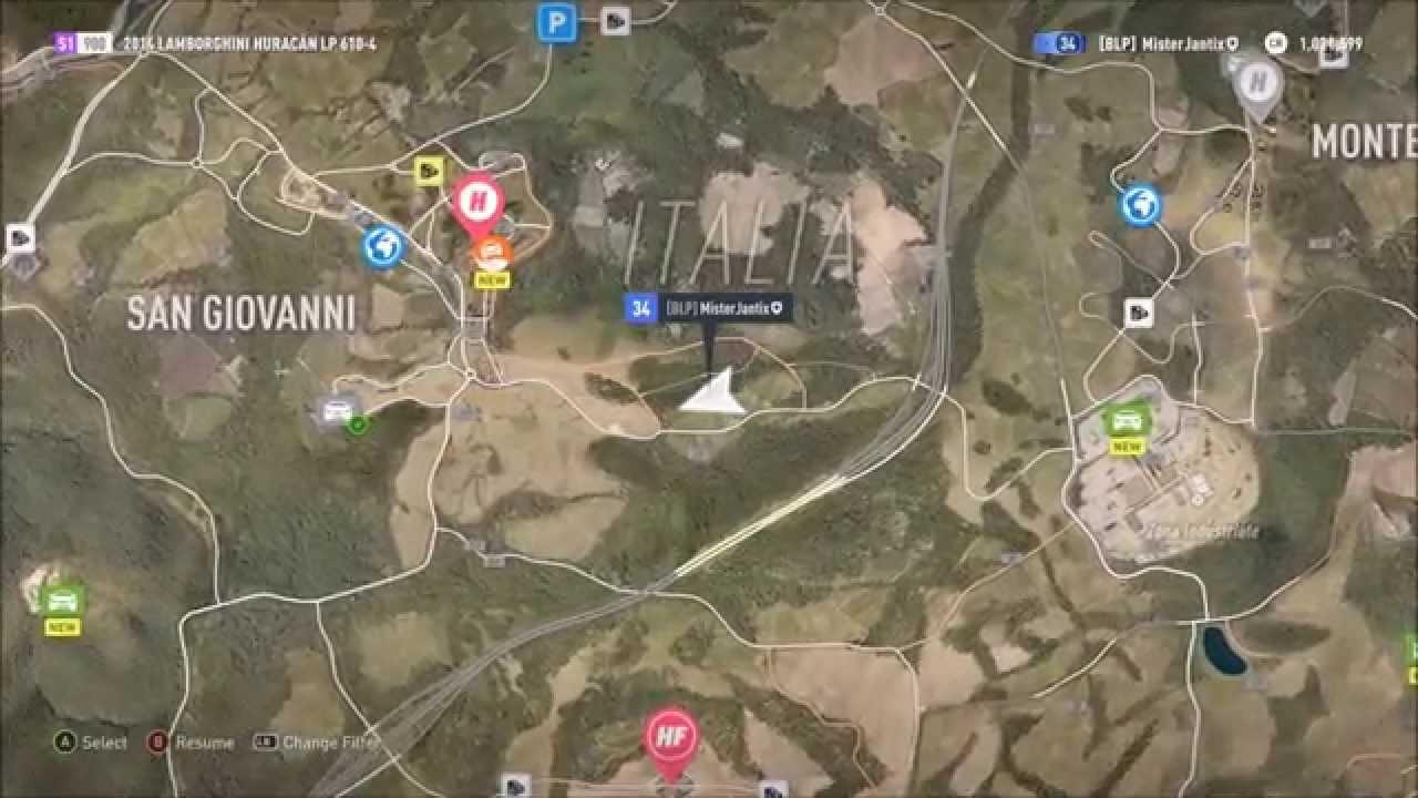San Giovanni Barn Find Forza Horizon 2