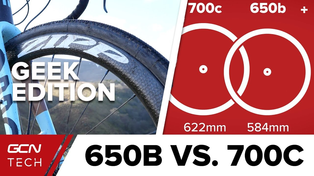 3f54d1e3de3 650B Vs. 700C: The Geek Edition | GCN Tech Does Science - YouTube