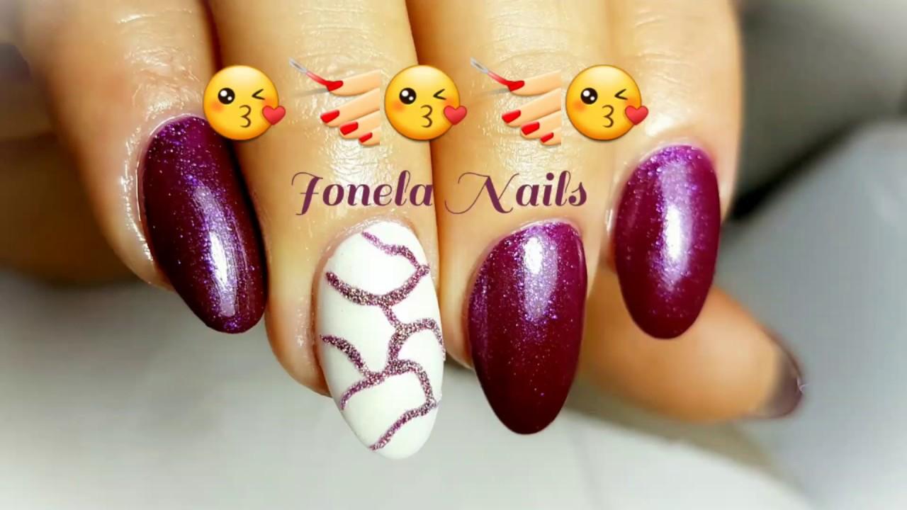 Intretinere Unghii Rotunde Nails Marshala Cameleon Youtube