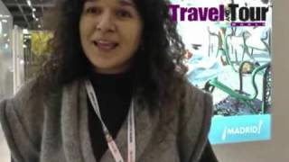 """Madrid's culture and nightlife is one of its kind,"" says Ana Sostres at WTM 2013"