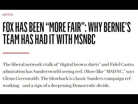 MSNBC vs. Bernie (TYTI Daily)