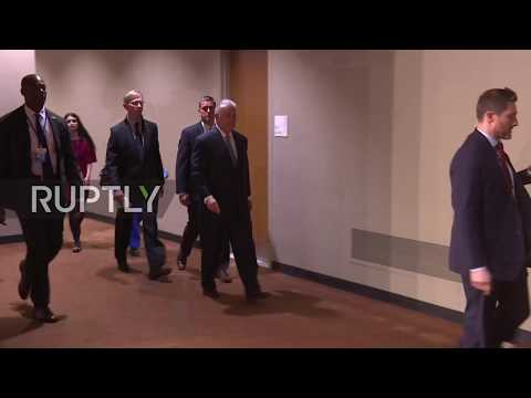UN: Lavrov and other P5+1 leaders meet to discuss Iran's nuclear programme