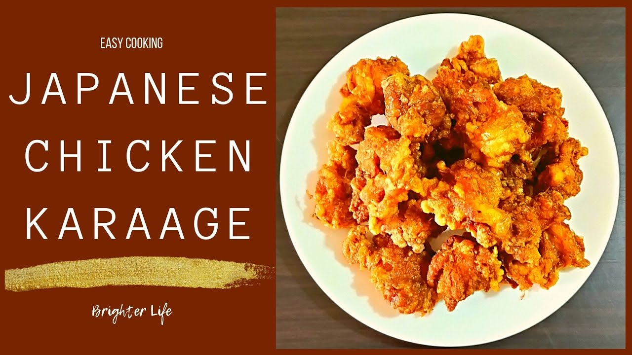Japanese Chicken Karaage Simply Delicious Easy Pinoy Cooking Recipes Youtube