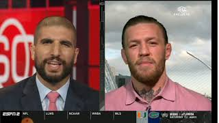 ESPN interview Conor 2019