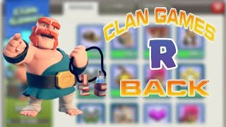 Clan Games Are Back After TH 12 Update In Clash Of Clans