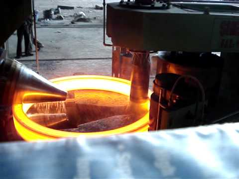 3000mm Ring Rolling Machine Youtube