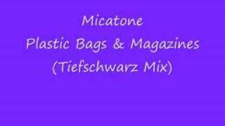 Micatone Plastic Bags & Magazines (Tiefschwarz mix)