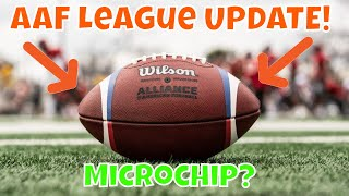 Alliance of American Football League - AAF UPDATE!