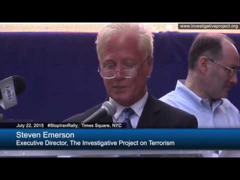 Stop Iran Rally - Steve Emerson