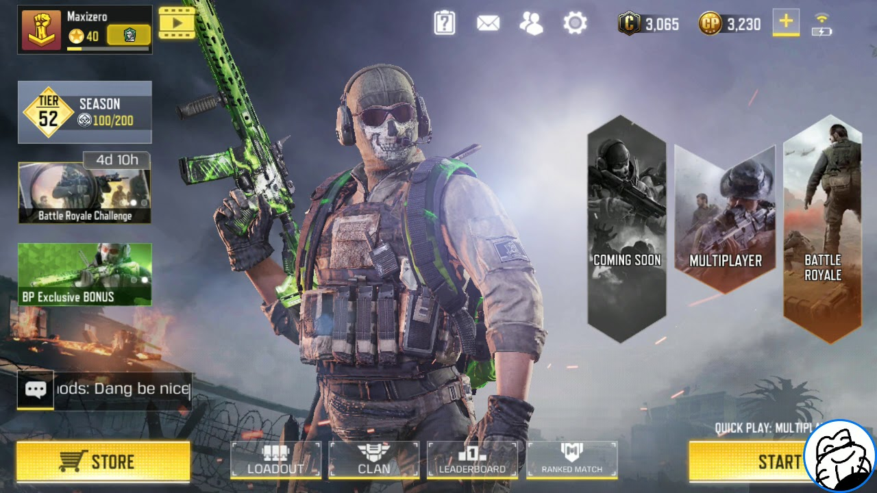 How To Set Your Facebook Profile Avatar In Call Of Duty Mobile Youtube