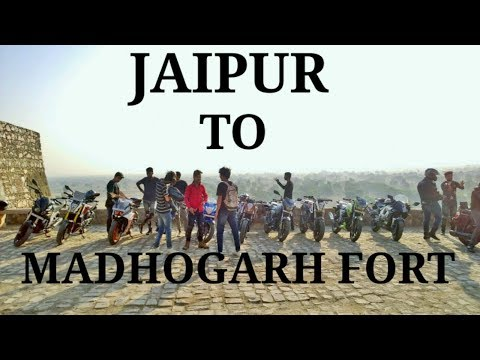 Jaipur To Madhogarh Fort 11 Riders