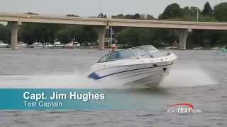 Cruisers Sport Series 238 Bow Rider Test 2015- By BoatTest.com