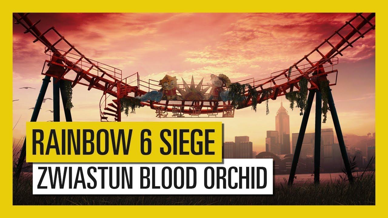 Tom Clancy's Rainbow Six Siege – Zwiastun Operacji Blood Orchid