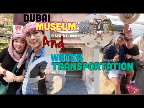 2nd Vlog | Dubai Museum and Water Transportation | Pinoy Vlogger | Al ghubaiba Dubai.