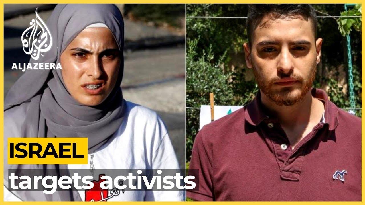 Israel arrests Palestinian activists Muna and Mohammed al-Kurd
