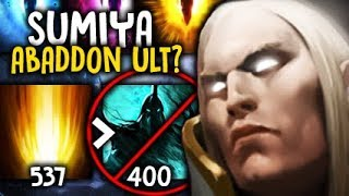 Sumiya ABADDON ULT? Denied by Invoker GOD Dota 2 7.06f