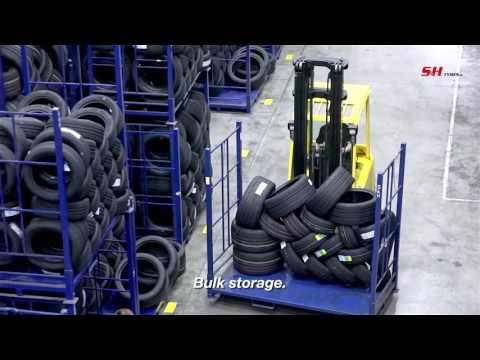 S&H Tyres groothandel in autobanden bedrijfsfilm