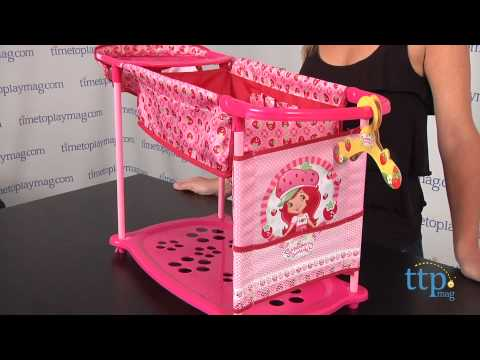 strawberry shortcake baby doll care center from hauck youtube. Black Bedroom Furniture Sets. Home Design Ideas