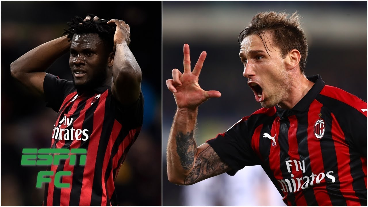 Franck Kessie and Lucas Biglia make amends after AC Milan's loss vs. Inter Milan   Serie A