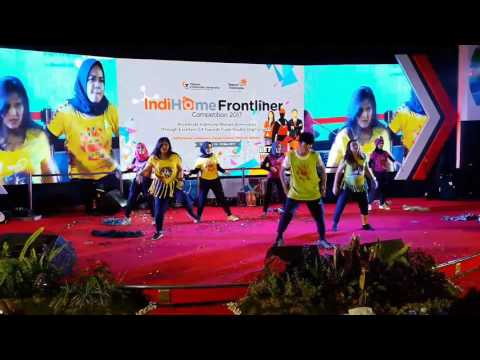 Performance for IndiHome Frontliner Competition 2017 | Infomedia | Digital media | Telkom Care
