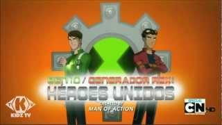 Ben 10/Generador Rex: Héroes Unidos - Opening (HD) 00:22