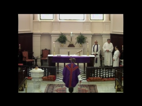 Holy Eucharist at 11:15 AM on February 18 at St. James's in Richmond, VA