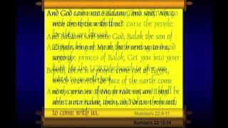The Prophet Balaam Part 1 - Chuck Missler
