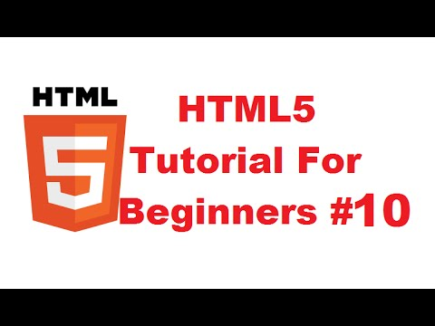 HTML5 Tutorial For Beginners 10 # HTML Lists (Ordered Lists, Unordered Lists, Definition Lists)