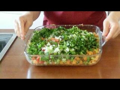 bulgur salat kisir vegan k s r tarifi gesund lecker zum abnehmen canan s rezepte youtube. Black Bedroom Furniture Sets. Home Design Ideas