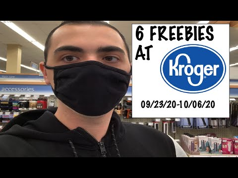 6 FREEBIES AT KROGER!!!! ~ 09/23/20-10/6/20 ~ HOT DEALS!