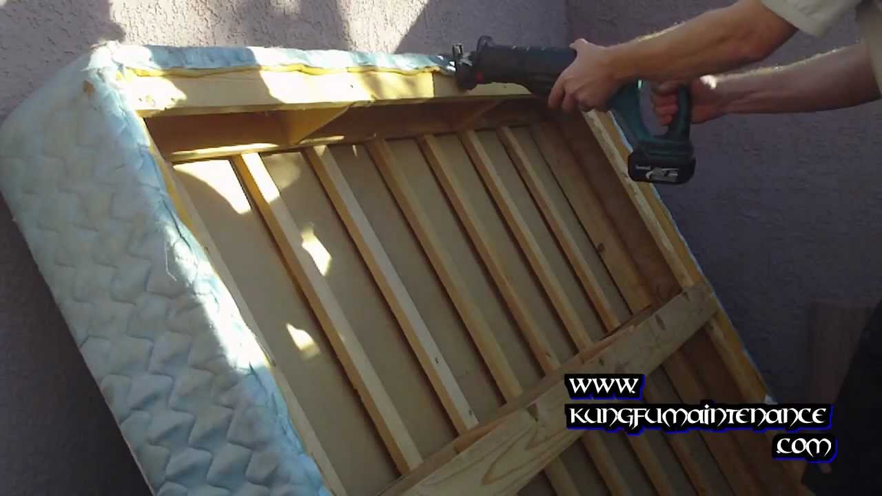 How To Break Down Box Springs To Prevent Bed Bugs By