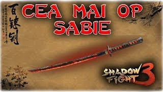 Cea mai OP Sabie? - Shadow Fight 3 Romania